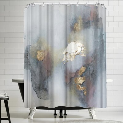 Christine Olmstead Rose 3 Shower Curtain