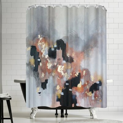 Christine Olmstead Just Peachy Shower Curtain