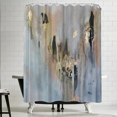 Christine Olmstead Over Black 3 Shower Curtain