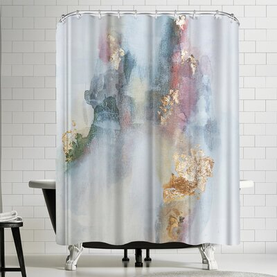 Christine Olmstead Rose1 Shower Curtain