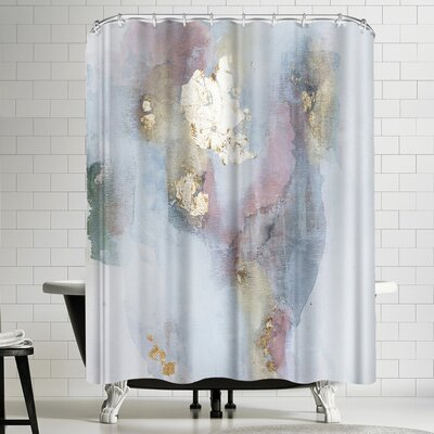 Christine Olmstead Rose 2 Shower Curtain