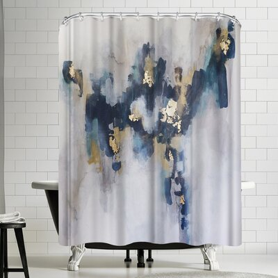 Christine Olmstead Strength Shower Curtain