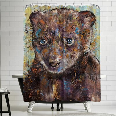 Michael Creese Baby Bear Shower Curtain