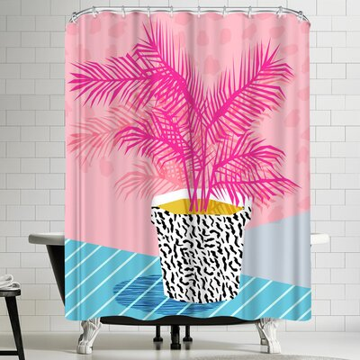 Wacka Designs No Can Do Shower Curtain