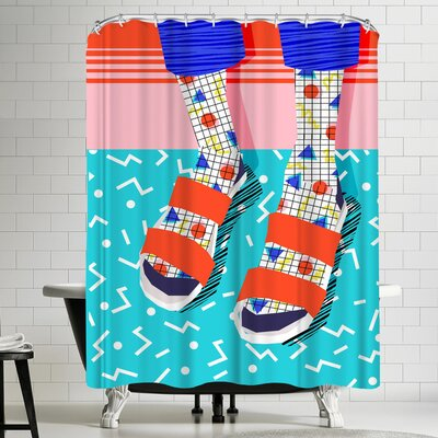 Wacka Designs No Doi Shower Curtain