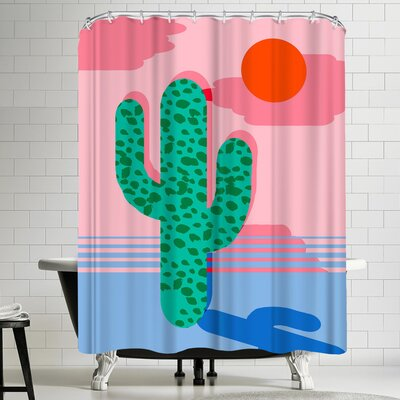 Wacka Designs No Foolin Shower Curtain
