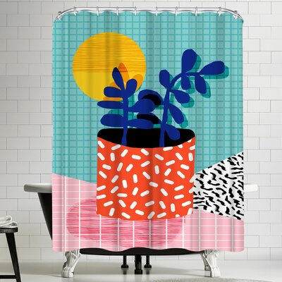 Wacka Designs No Way Shower Curtain