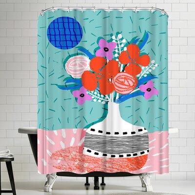 Wacka Designs Oh Ay Shower Curtain