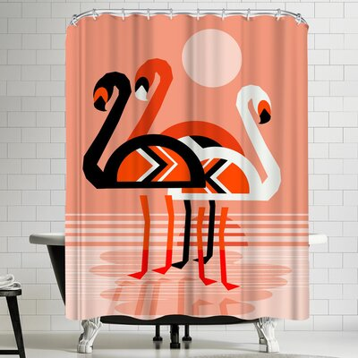 Wacka Designs Pose Shower Curtain