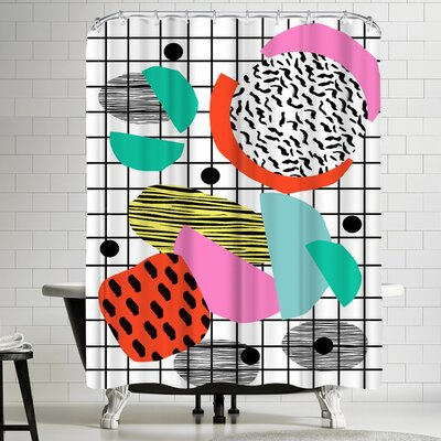 Wacka Designs Posse Shower Curtain
