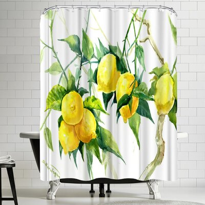 Suren Nersisyan Lemon Tree 1 Shower Curtain
