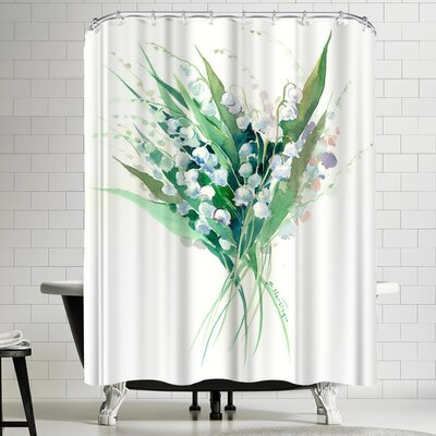Suren Nersisyan Lilies of the Valley Suren 1 Shower Curtain