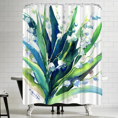 Suren Nersisyan Lilies of the Valley Suren 2 Shower Curtain