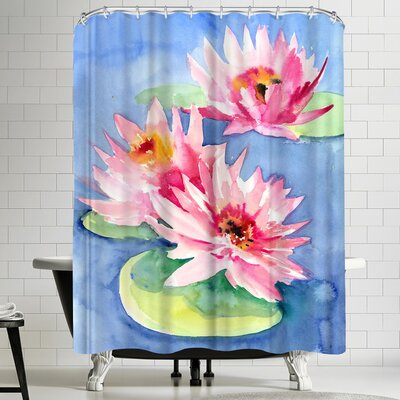 Suren Nersisyan Lotuses 1 Shower Curtain