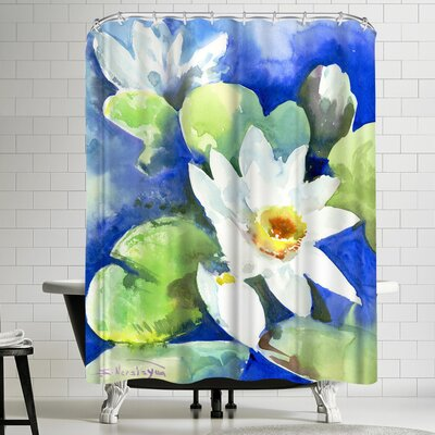 Suren Nersisyan Lotuses 2 Shower Curtain