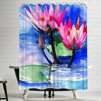 Suren Nersisyan Lotuses 3 Shower Curtain