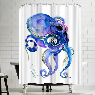 Suren Nersisyan Octopus 1 Shower Curtain