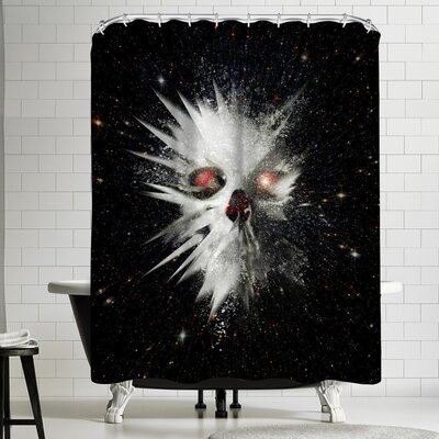 Ali Gulec Big Bang Shower Curtain