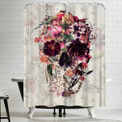 Ali Gulec New Skull Light Shower Curtain