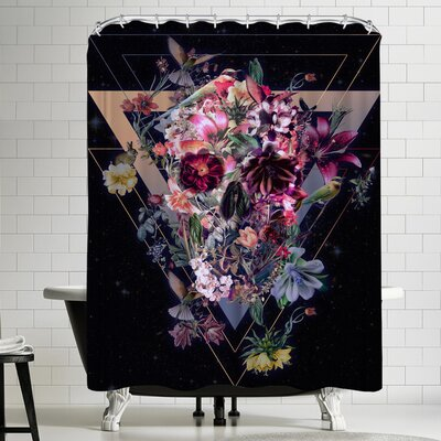 Ali Gulec New Skull S6 V Shower Curtain