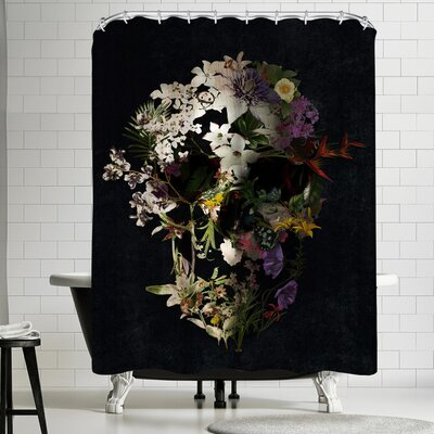Ali Gulec Spring Skull 2 Shower Curtain