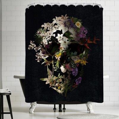 Ali Gulec Spring Skull 2 Shower Curtain