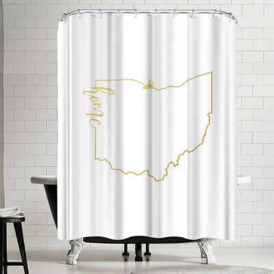 Paperfinch Ohio Home Shower Curtain