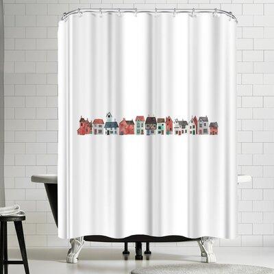 Elena Oneill Street Shower Curtain