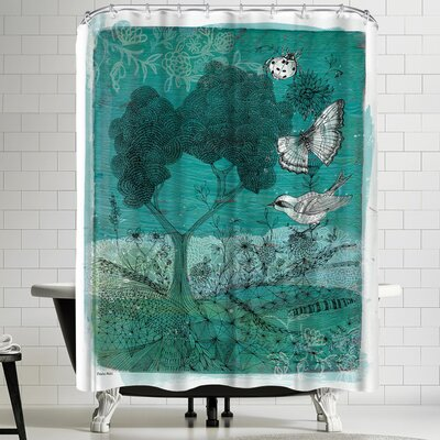 Paula Mills Wilderness Shower Curtain