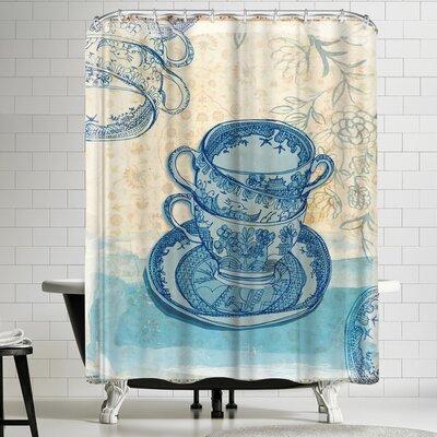 Paula Mills Willow Shower Curtain
