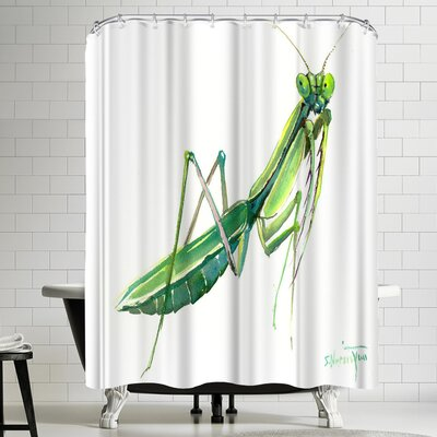Suren Nersisyan Raying Mantis Shower Curtain