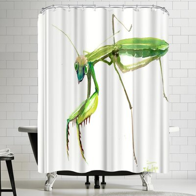 Suren Nersisyan Raying Mantis 2 Shower Curtain