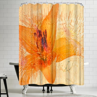 Zina Zinchik Sweet Awakening Shower Curtain