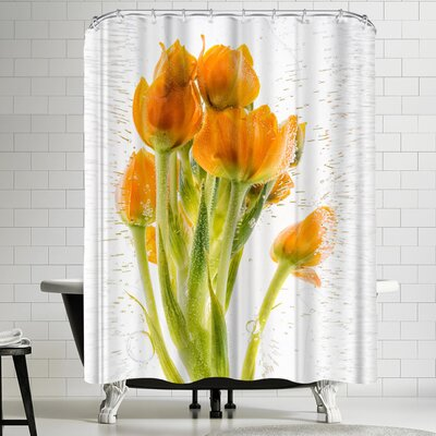 Zina Zinchik Synergy Shower Curtain