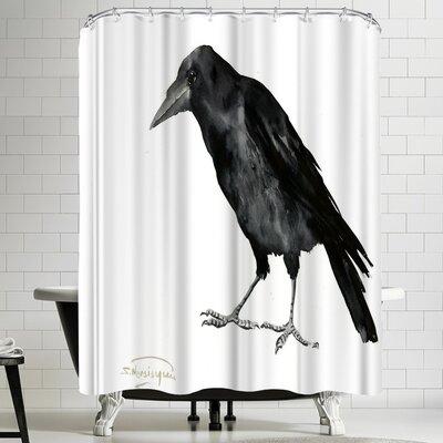 Suren Nersisyan Crow Shower Curtain