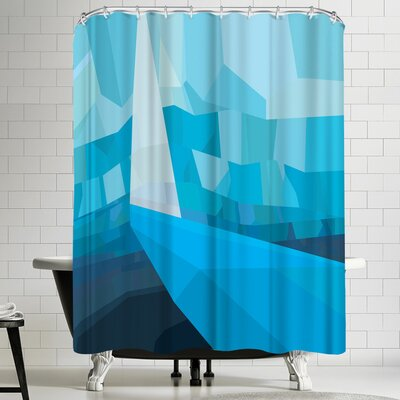 Joe Van Wetering Solitude Shower Curtain