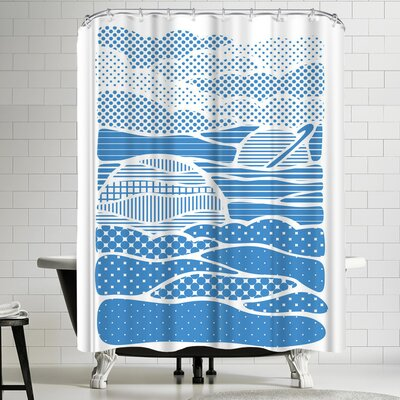 Joe Van Wetering Summer Solstice Shower Curtain