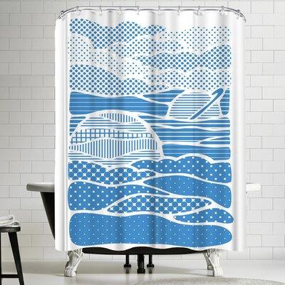 Joe Van Wetering Summer Solstice Shower Curtain
