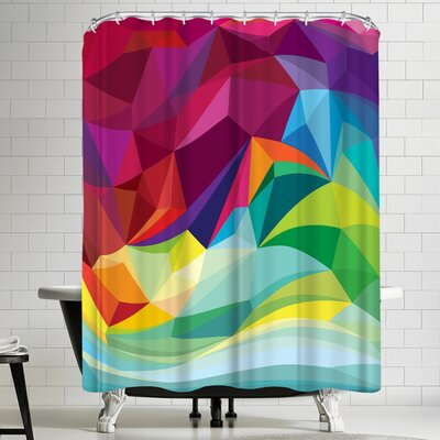 Joe Van Wetering Swirl Shower Curtain
