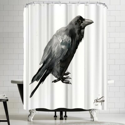 Suren Nersisyan Crow 3 Shower Curtain