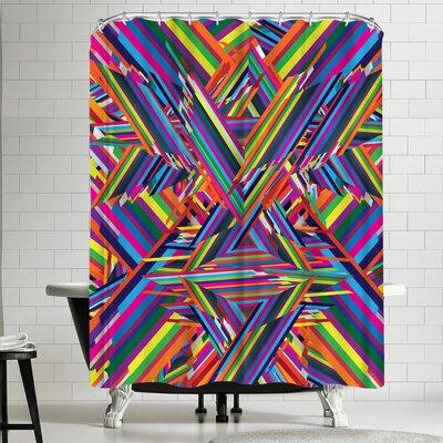 Joe Van Wetering The Shattering Shower Curtain