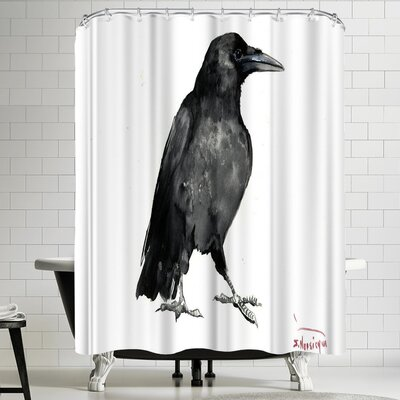 Suren Nersisyan Crow 5 Shower Curtain