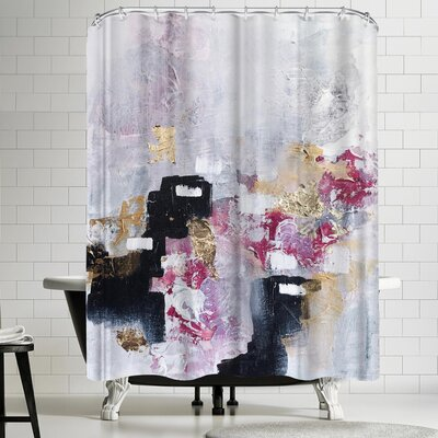Christine Olmstead Blush Shower Curtain
