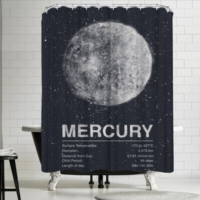 Tracie Andrews Mercury Shower Curtain