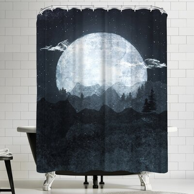 Tracie Andrews Moonrise Shower Curtain