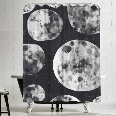 Tracie Andrews Moons Shower Curtain