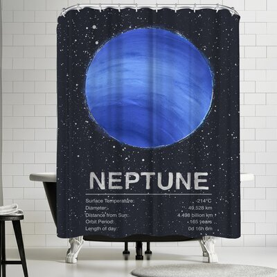 Tracie Andrews Neptune Shower Curtain
