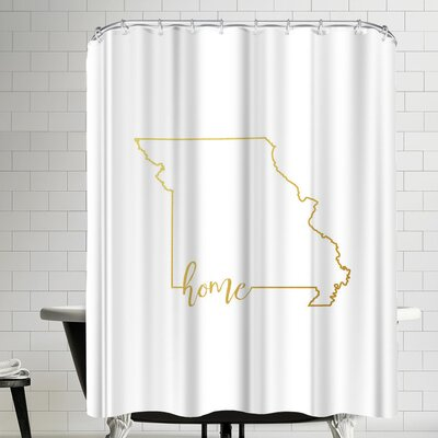 Paperfinch Missouri Home Shower Curtain