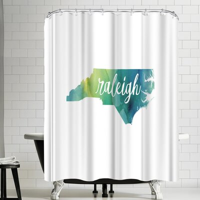 Paperfinch NC Raleigh Shower Curtain