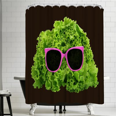 Florent Bodart Mr Salad Shower Curtain